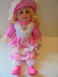 sier pop roze 50 cm prijs per stuk