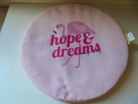 stoel kussen hope dreams 40cm prijs per stuk
