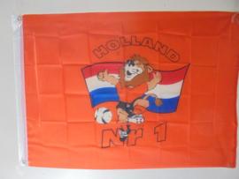 vlag , holland Nr 1 afm 100x70 cm prijs per stuk