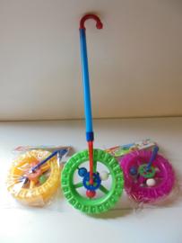 kinder loop wiel wheel game 53 cm prijs per stuk
