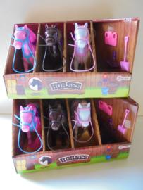 Toi Toys Horses paarden set met stal afm 30x20x18 cm prijs per stuk