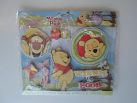 winnie the pooh 3d stickers 23 x 25 cm prijs per stuk