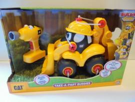 Cat Truck take Apart buddies schovel movin morgan  39x25x17 cm prijs per stuk