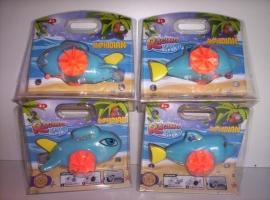 Racing Amphibian wind up toys prijs per  stuk