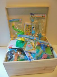 Peppa Pig schatkist vol speelgoed 100 stuks assorti prijs per kist