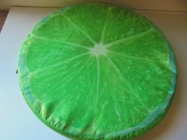 stoel kussen fruit kiwi 40 cm prijs per stuk