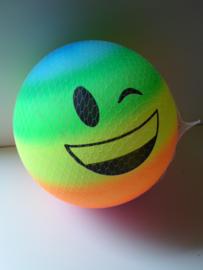 opblaas mega bal neon print 40 cm prijs per stuk