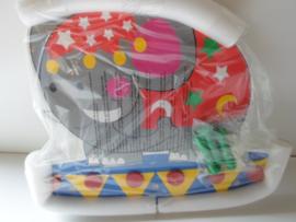 kinder kapstok olifant 40 x 35 cm prijs per stuk
