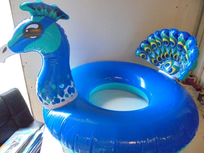 zwemband pauw 98 cm prijs per stuk