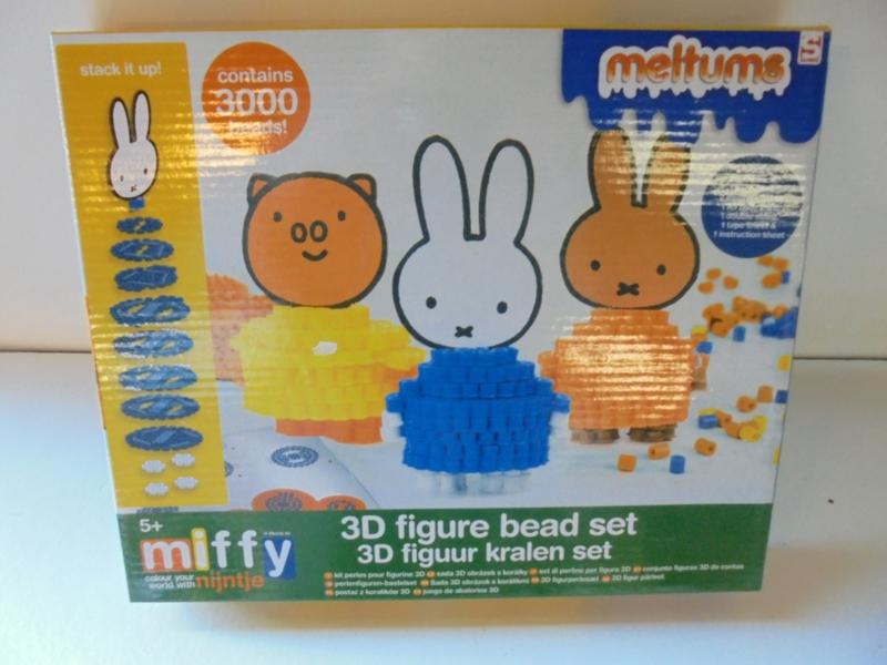 Miffy nijntje Meltums 3000 beads prijs per stuk
