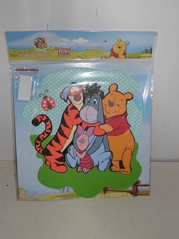 Disney Winnie the pooh Foam Wall Decorations prijs per stuk