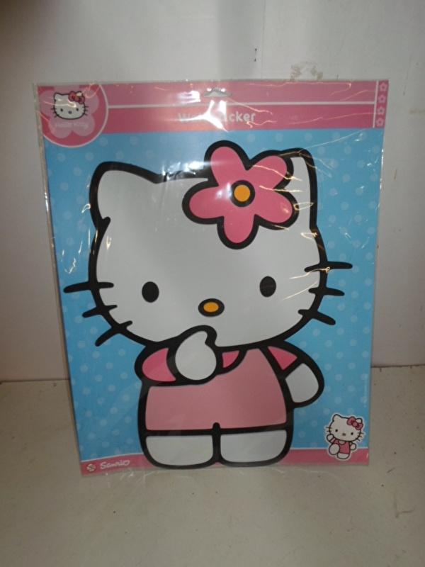 Hello Kitty Foam Wall Sticker groot prijs per stuk