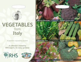Collectie Italiaanse groenten