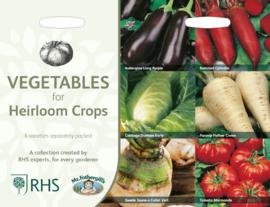 Collectie vergeten groenten