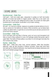 Komkommer Gele Tros