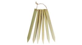 Bamboe stekers groot