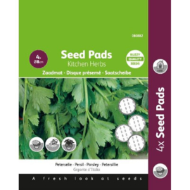 Seedpads Platte Peterselie