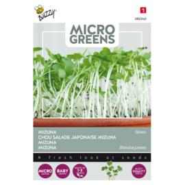 Microgreens Mizuna Green