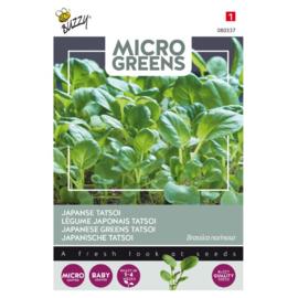 Microgreens Japanse Tatsoi