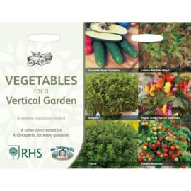 Collectie groente voor de verticale tuin