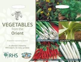 Collectie Oosterse groenten
