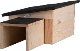 Egel huis hout