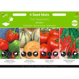 Zaad matje fruit/groente