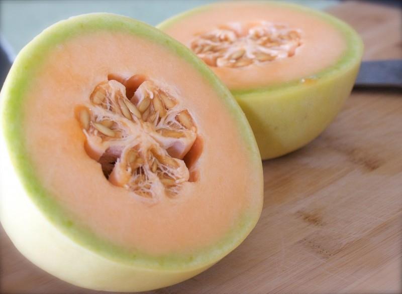 Meloen Honeydew orange flesh Temptation