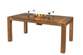 Glazen ombouw Happy Cocoon Table Inbouwbrander rechthoek