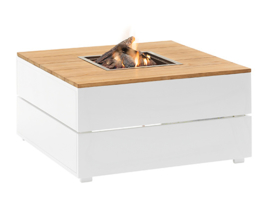 Cosipure 100  White frame / Teak top