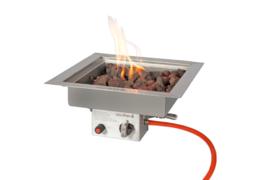 Easyfires Inbouwbrander vierkant