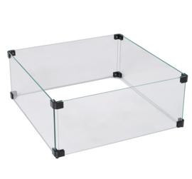 Glazen Ombouw Cozy Living Glasset 57x57x21 cm