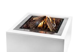 Happy Cocooning vuurtafel Inbouwbrander Vierkant groot