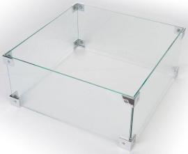 Glazen ombouw Happy Cocoon groot 56 x 56 cm