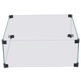 Glazen Ombouw Cozy Living Glasset 52x52x21 cm