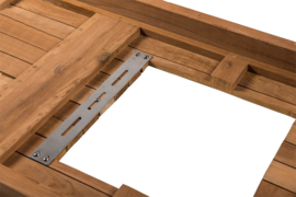 Happy Cocooning Support tafel voor losse inbouwbrander