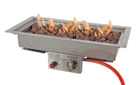 Easyfires inbouwbrander 50x25 cm RVS