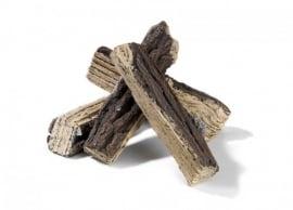 Keramische houtblokken groot Happy Cocoon