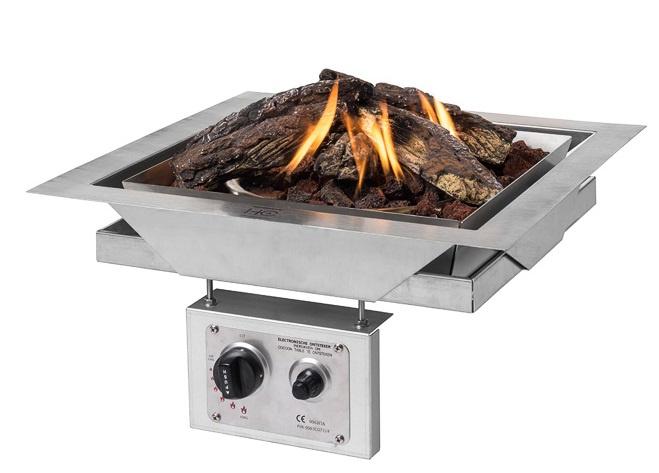 Inbouwbrander Tafel Easyfires Voor Elk Terras