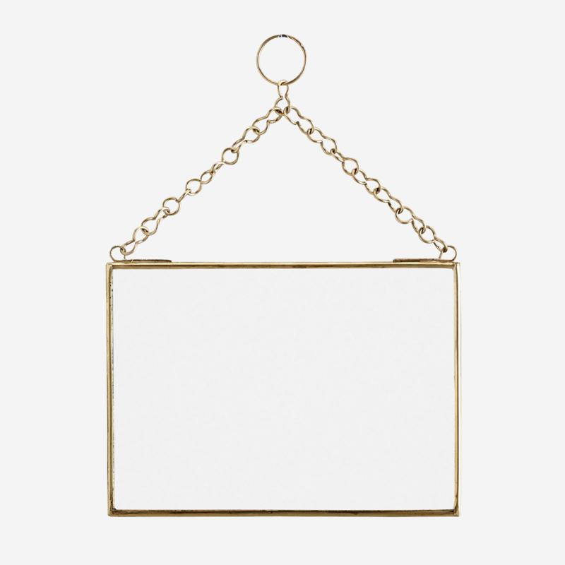 Spegel 18x13 gold Madam Stoltz