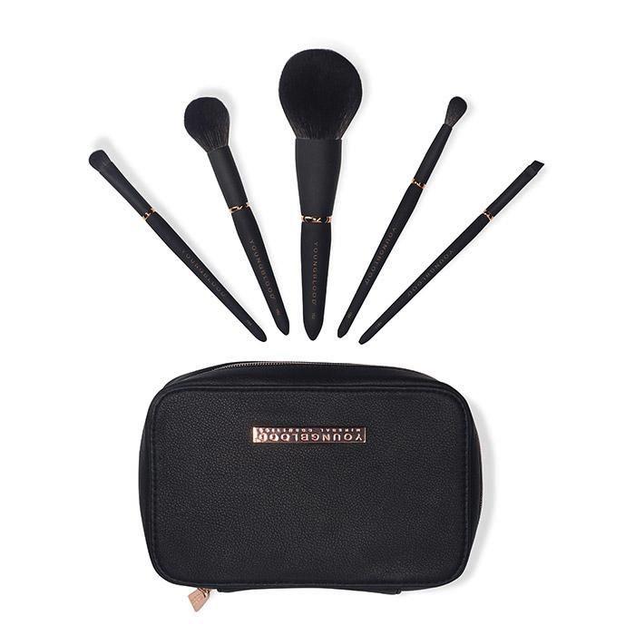 Youngblood Jet Set 5pc Make-up Brush Kit