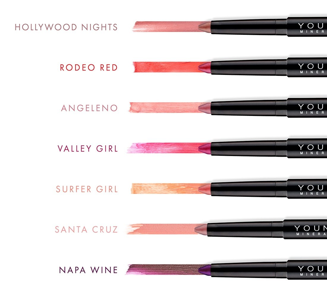 Youngblood Color Crays Lip Crayons Matte