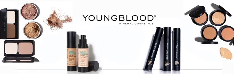 Youngblood make-up webshop