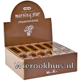 Morning Star Wierook - Frankincense - 50 stokjes
