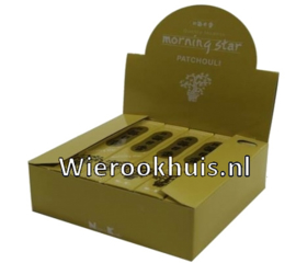 Morning Star Wierook - Patchouli - 50 stokjes