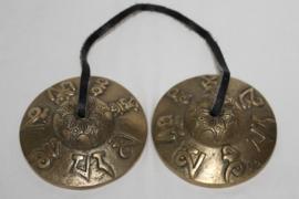 Tingsha groot Om Mani Padme - 300 gram