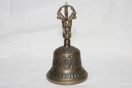 Tibetaanse bel met dorje - standaard uitvoering