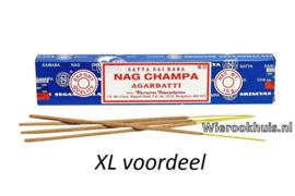 Nag Champa Agarbatti - 100 gram wierook stokjes