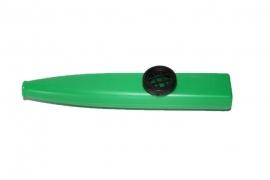 Plastic kazoo, groen