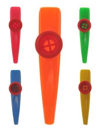 Vijfhonderd stuks - bedrukte kazoo's